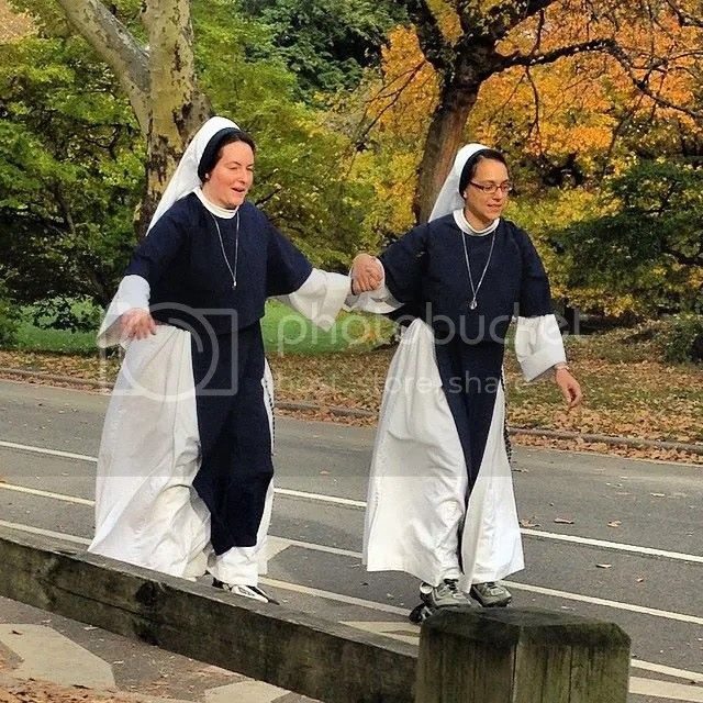 Two nuns casually rollerblading in Central Park #centralpark #nyc #travel #newyork #funny photo 10431670_10205281314693263_8700040878640675850_n.jpg