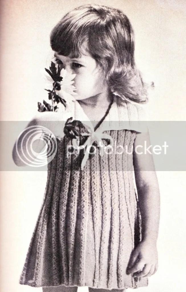 chloeheartsowls.com vintage knitting pattern 1960s sailor dress