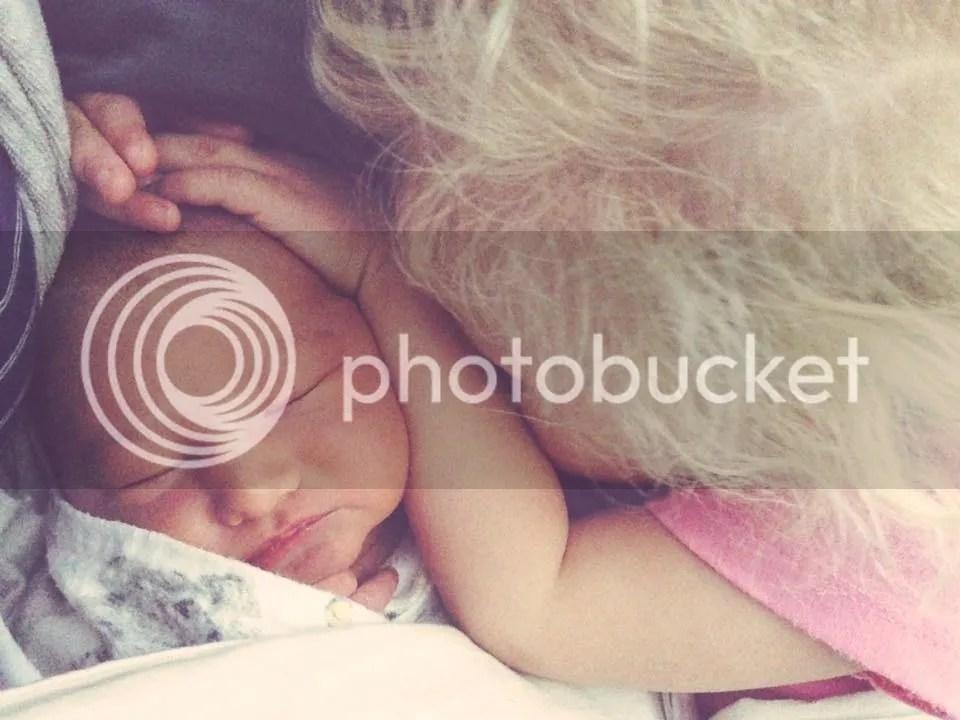 Sisters snuggling in bed ? photo 12019811_10153066774806957_829042767081768347_n_zpsc1hpy16w.jpg