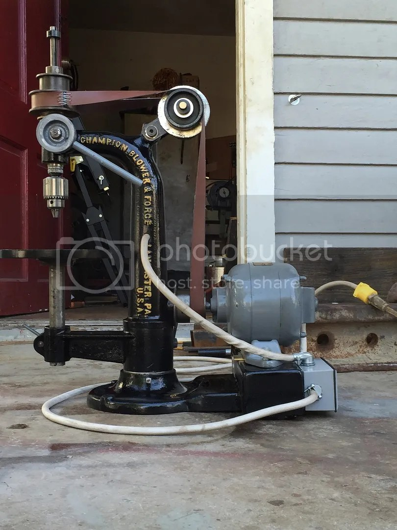 Champion Blower And Forge Drill Press Parts