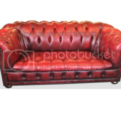 Oxblood Red Chesterfield Sofa Comfortable Sleepers Reviews And Matching Armchair Button Back Genuine
