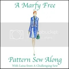 A Marfy Free Pattern Sew Along with Leslie from A Challenging Sew