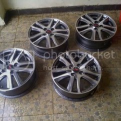 Ukuran Velg All New Yaris Trd List Grand Avanza Bekas Wts Racing Ori Oem Sportivo 5 Pc Mulusss