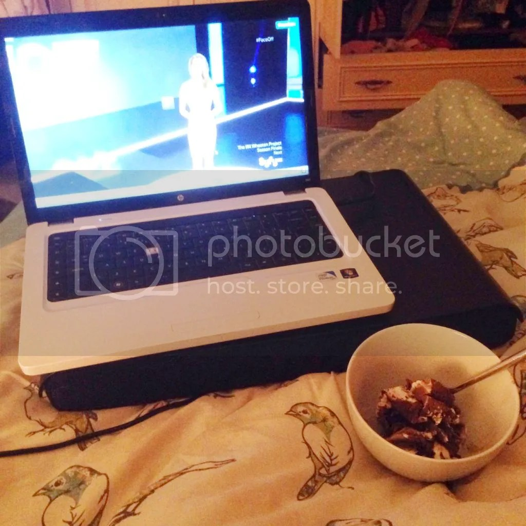 ice cream and tv