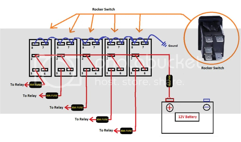 carling toggle switch wiring diagram bovine skeletal furthermore 4 pin rocker led ~ odicis