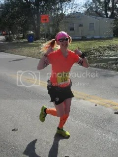 Me heading into Mile 18 of the Charleston Marathon - Charleston, South Carolina