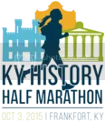 Kentucky History Half Marathon...which my dear friend, Kelsie, ran for me!