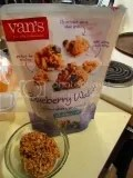 Van's Gluten Free Blueberry Walnut Soft Baked Whole Grain Granola Clusters