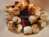S'mores Bowl made with Pamela's Products Gluten-Free Mini Cinnamon Grahams, dark chocolate, and vegan marshmallows