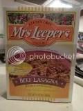 Mrs. Leeper's Gluten Free Beef Lasagna