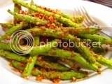 Crispy Green Beans made with Grandpa's Gourmet Gluten Free Citrus Herb Chicken Encrusting