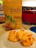 Sticky Fingers Bakeries Gluten Free Meyer Lemon Scones