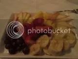 S.N.O.B.'s Fruit Plate dessert