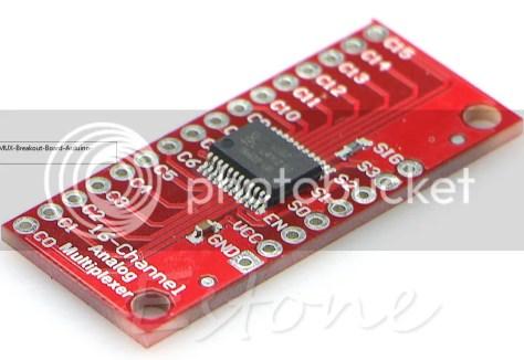 74HC4067 Breakout Board