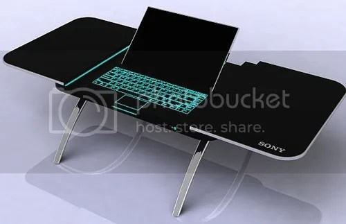 Sony Fusion Workstation Coffee Table