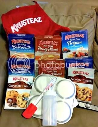 Krusteaz breakfast at night prize pack