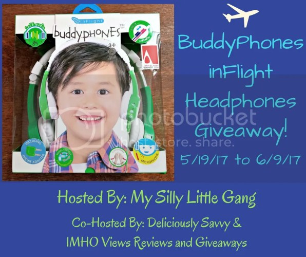BuddyPhone inFlight Headphones Giveaway