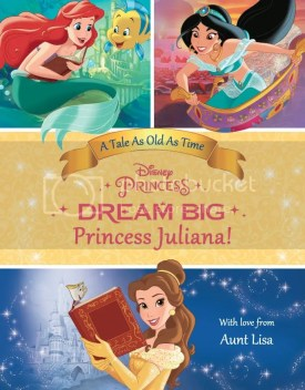 dream big princess personalized book