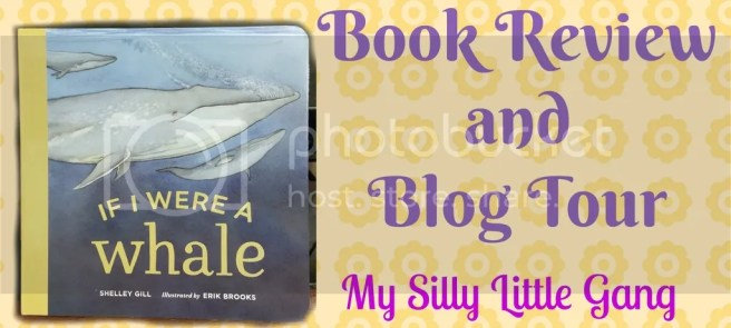 If I Were A Whale Book Review and giveaway