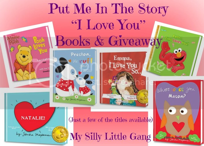 Put Me In The Story Books Giveaway