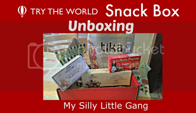 Try The World Snack Box Unboxing