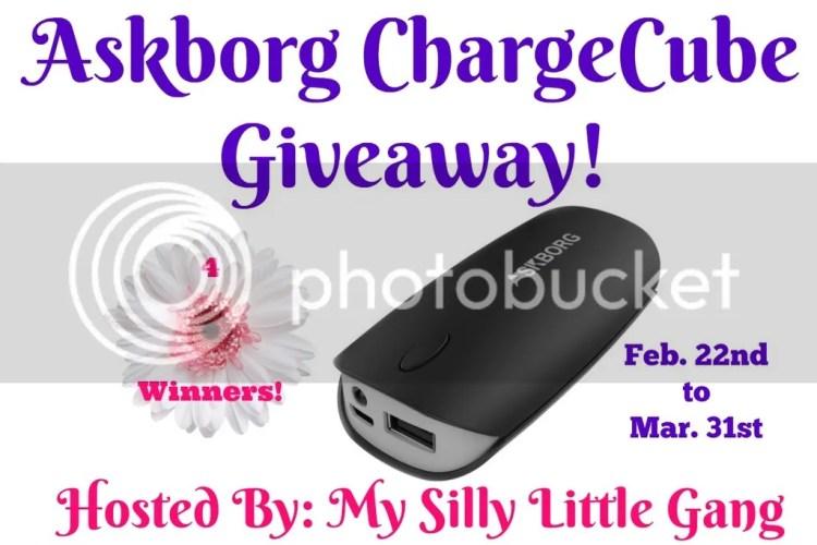 askborg cubecharger giveaway