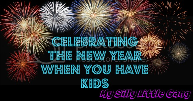 celebrating the new year when you have kids