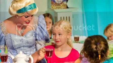 story land cinderella tea time