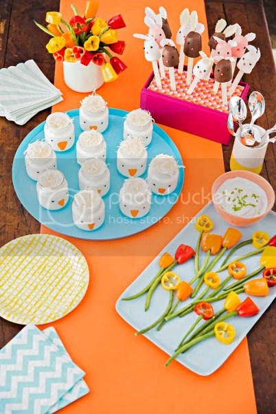 Spring Easter Perfect Party Snacks
