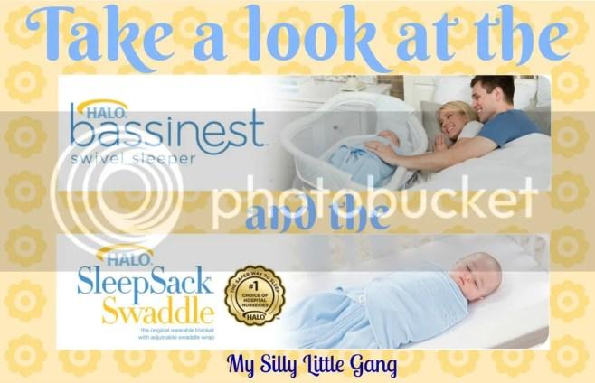 take a look at the HALO bassinest & sleepsack swaddle