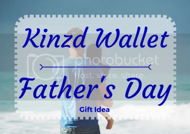 Kinzd Wallet - Father's Day Gift Idea