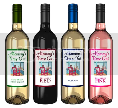 Mommy's Time Out Wine