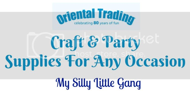 Oriental trading company craft and party supplies