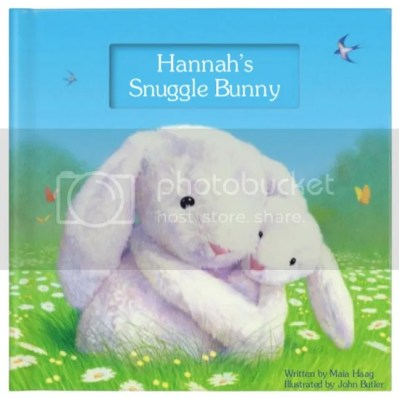 snuggle bunny personalized book