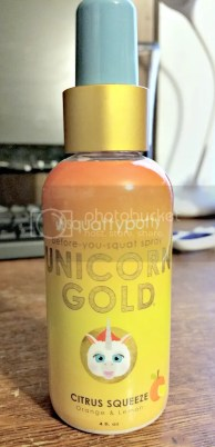 unicorn gold spray