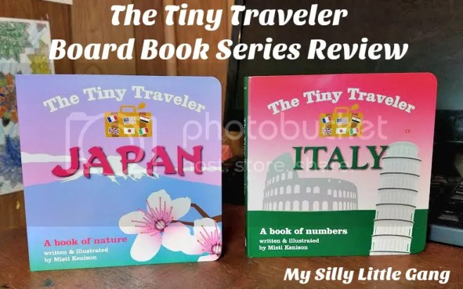 The Tiny Traveler Board Book Series