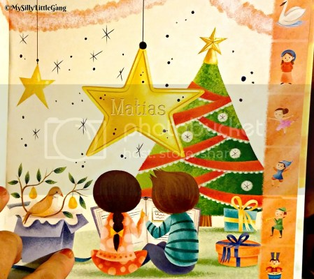 Christmas sing-along personalized book