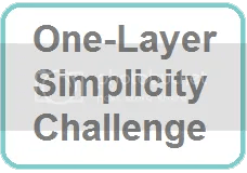 One Layer Simplicity Challenge