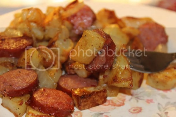 Chicken Sausage Skillet Dinner
