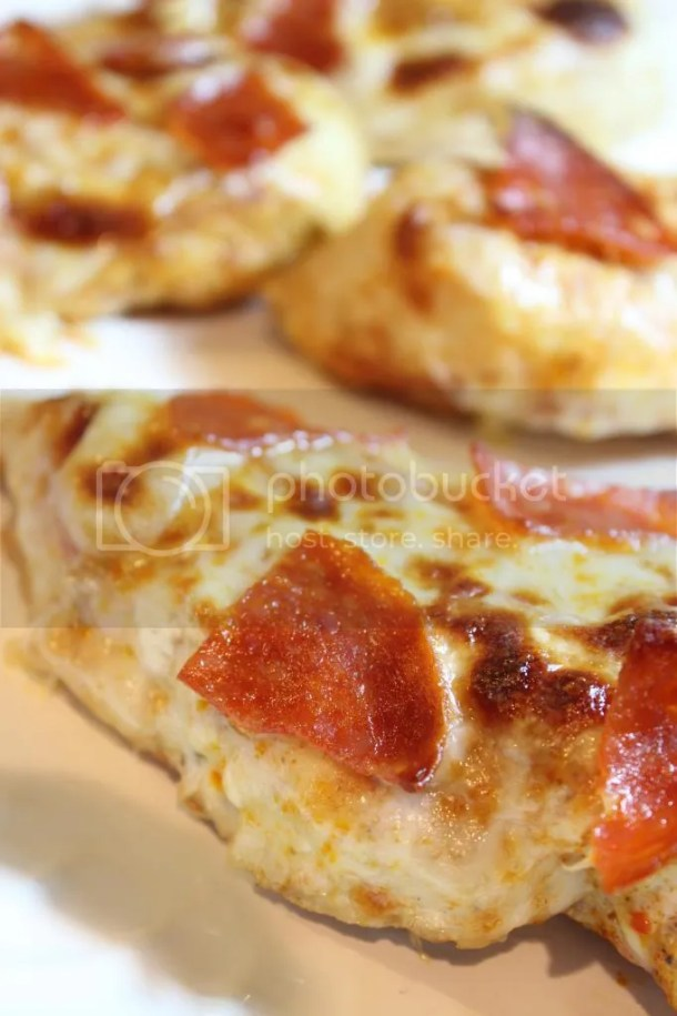 Low Carb Pizza Topped Chicken
