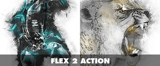 Fracture Photoshop Action - 32