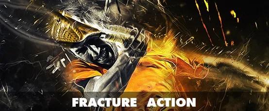 Fracture Photoshop Action - 60
