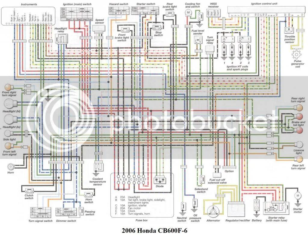 WRG-1822] 1998 Honda Cbr 600 F3 Wiring Diagram on