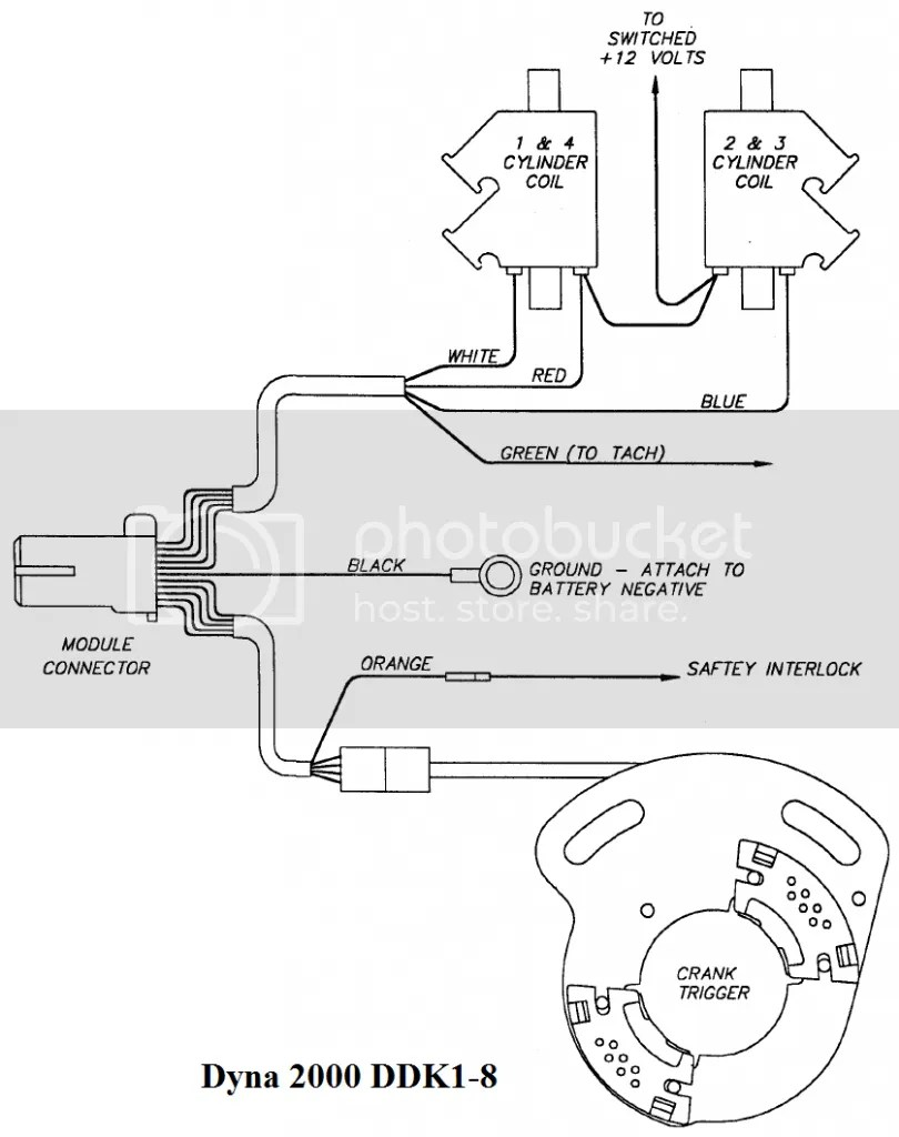 Dyna 2000 Ignition Wiring Diagram : 33 Wiring Diagram