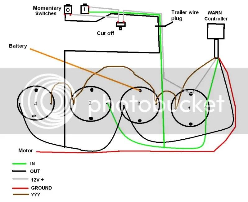 Warn Winch 5 Wire Control Wiring Diagram | mwb-online.co on