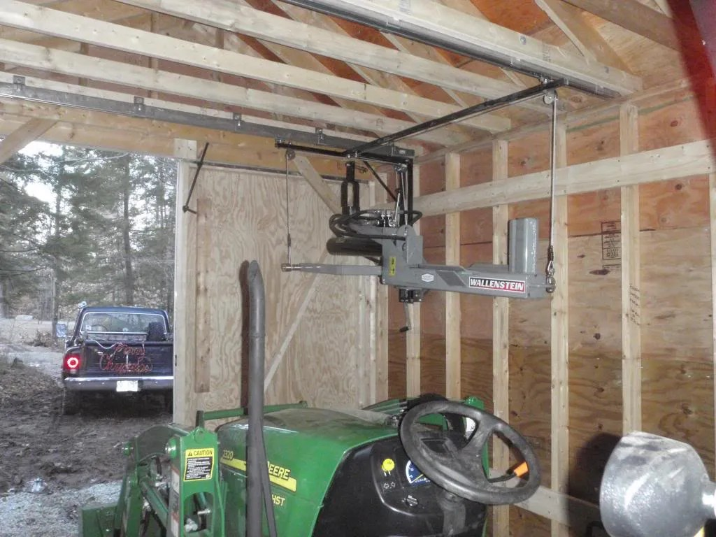 Overhead implement storage  MyTractorForumcom  The Friendliest Tractor Forum and Best Place