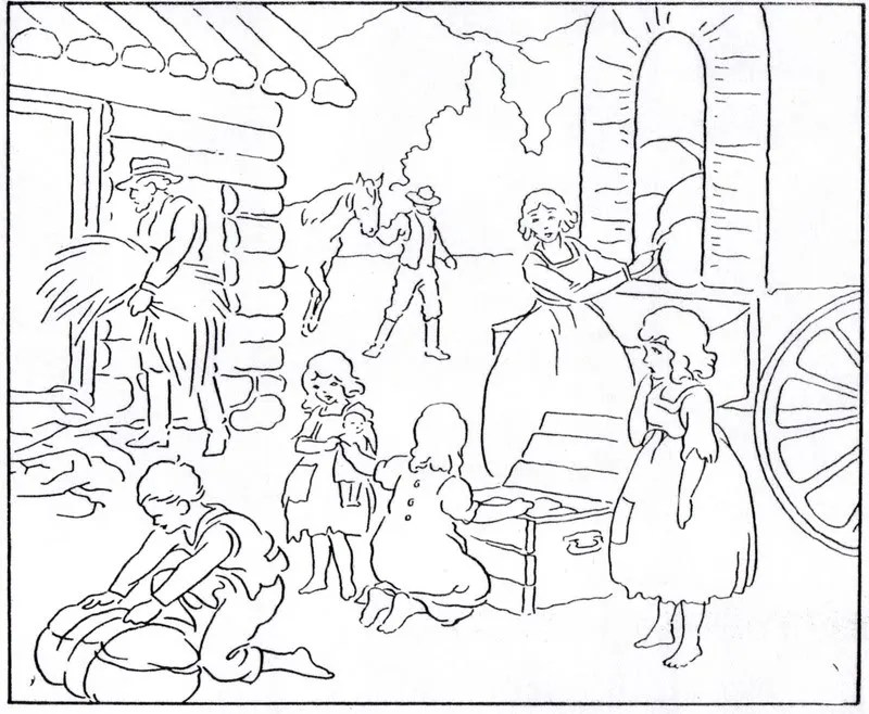 Free coloring pages of recess time