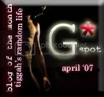 The G* Spot Weblog Award Official Winner