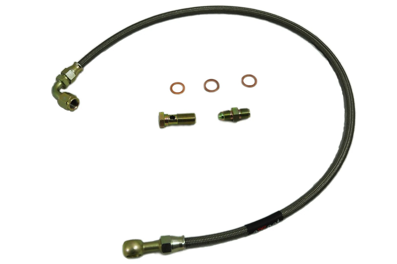 Braided Turbo Oil Feed Line Fits Nissan Silvia S15 SR20DET