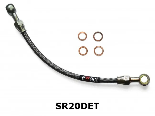 Braided Turbo Oil Feed Line Fits Nissan Silvia S14/A
